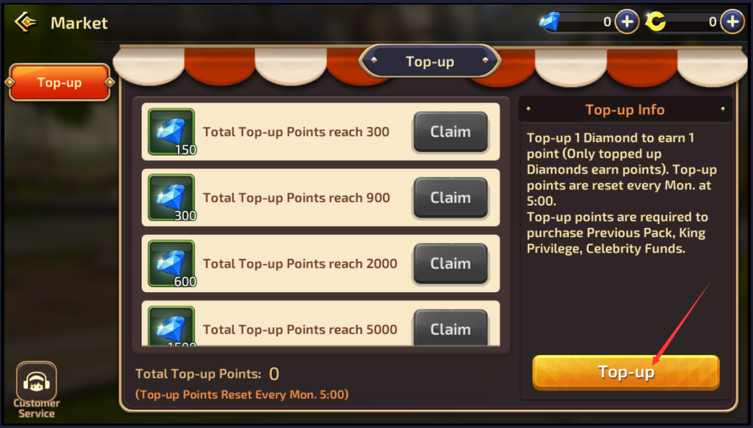 top up cc dragon nest
